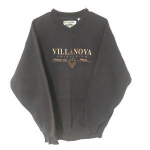 NWT Vintage Villanova University crewneck
